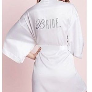 Victoria's Secret White Bride Robe
